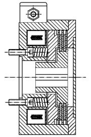 Многодисковый пружинный тормоз LMOBA100