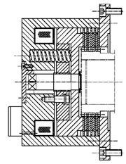 Многодисковый пружинный тормоз FMOBS315