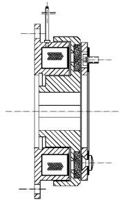 Однодисковая муфта MC25