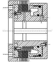 Многодисковая муфта HLW200
