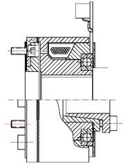 Зубчатая электромагнитные муфта FZVAM125