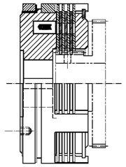 Многодисковая муфта LCW-S12s2