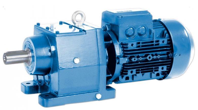 Соосный мотор-редуктор E BOX I 24,34