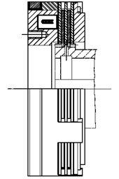 Многодисковая муфта LCW300