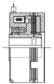 Многодисковая муфта LKC-S160s
