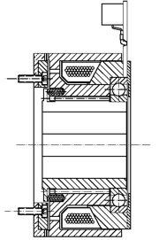 Зубчатая электромагнитные муфта FZV500