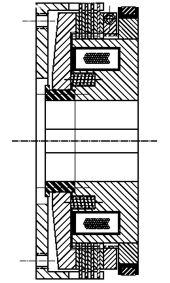 Многодисковая муфта LMS300