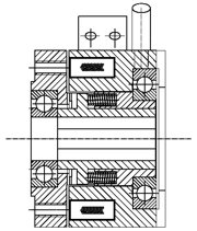 Зубчатая электромагнитные муфта FZND4