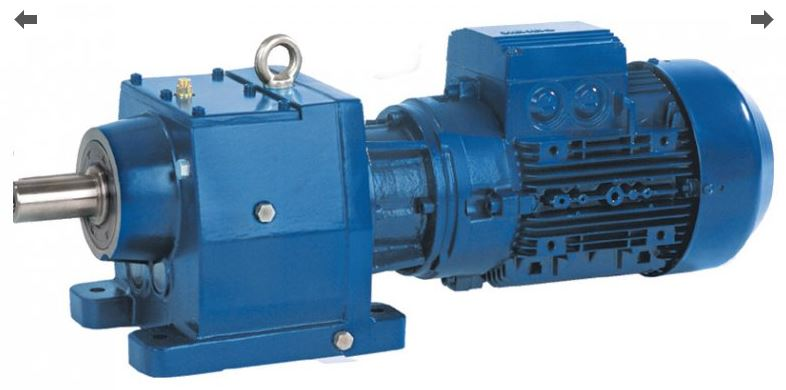 Соосный мотор-редуктор E BOX M 24,34
