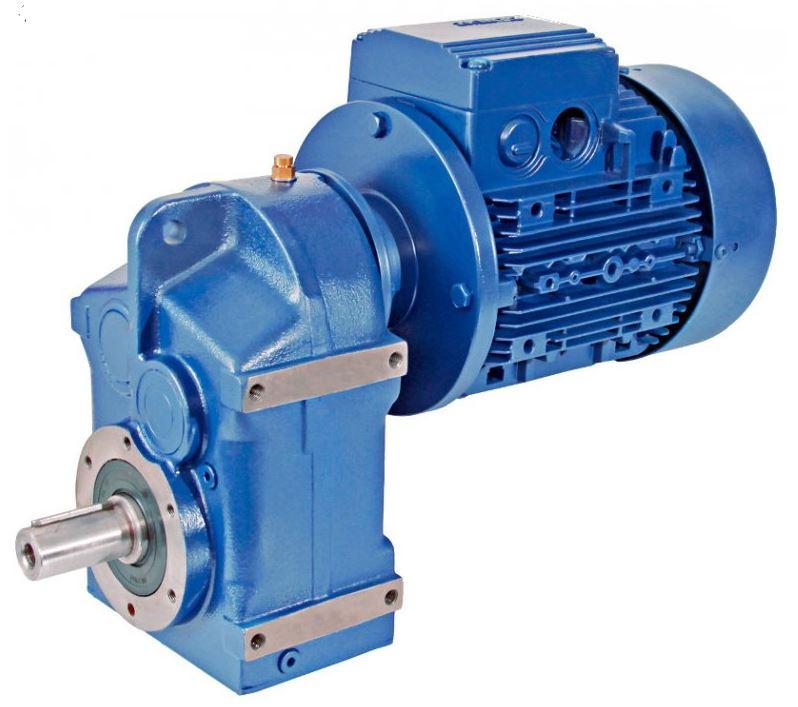 Цилиндрический мотор-редуктор E BOX P 26,36