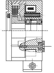 Многодисковый пружинный тормоз LMOBC80
